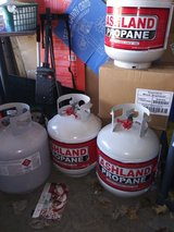 BBQ  Propane tanks  -FULL- in Joliet, Illinois