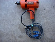 "BLACK & DECKER 3/8 "" ELECTRIC DRILL in Plainfield, Illinois"