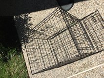Metal dog crate/cage in Kingwood, Texas