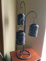 Bronze tealight holders with shades in Plainfield, Illinois