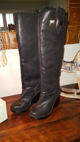Michael Kors black wedge boots in Chicago, Illinois