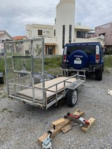 Awesome utility Trailer 2 inch ball in Okinawa, Japan