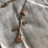 Rose Gold necklace in Okinawa, Japan