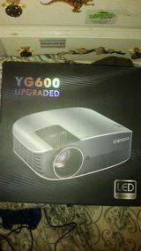 (Unopened) Crenova YG600 UPGRADED LED Projector in Algonquin, Illinois