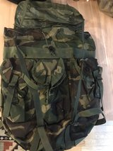camo Army bag in Ramstein, Germany