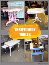antique chalk painted tables! in Cherry Point, North Carolina