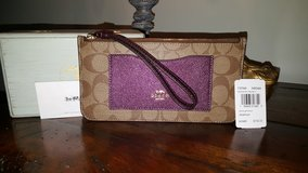 Authentic Coach wallet in Oswego, Illinois
