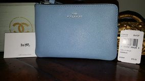 Authentic Coach wristlet baby blue in Oswego, Illinois