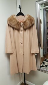 Authentic Cashmere and mink fur vintage jacket in Bolingbrook, Illinois