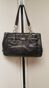 Authentic coach purse black in Oswego, Illinois