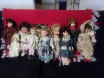Very old proclain dolls in Fort Knox, Kentucky
