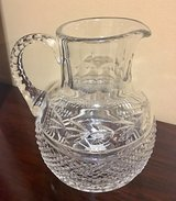 Beautiful lead crystal pitcher in Morris, Illinois