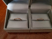 zales polished ring's sterling silver and 18k set in Fort Campbell, Kentucky