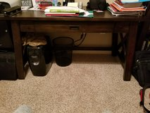 Medium size office desk (new) with Chair in Cherry Point, North Carolina