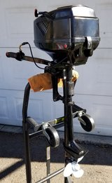 Hangkai 3.6HP outboard boat motor in Plainfield, Illinois