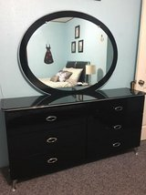 6 Pc Black Contemporary Bedroom Set in Fort Polk, Louisiana