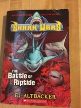 PB Shark Wars The Battle if Riptide by Scholastic in Spring, Texas