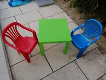 Kids patio set in Stuttgart, GE