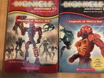 2 Paperback Bionicle by Scholastic in Houston, Texas