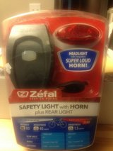 BIKE SAFETY LIGHT WITH HORN in Nellis AFB, Nevada