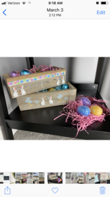 Easter boxes in Fort Leonard Wood, Missouri