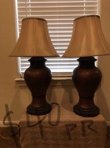 Lamps with shades/pair in Baytown, Texas