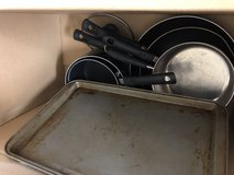 Pots and pans in Camp Pendleton, California