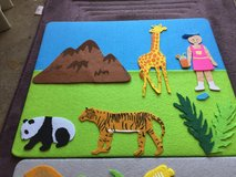 Felt creations  (5 boards) in St. Charles, Illinois