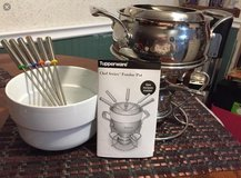 Fondue Set-Chef Series by Tupperware in Lockport, Illinois