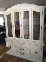 China cabinet in Fort Rucker, Alabama