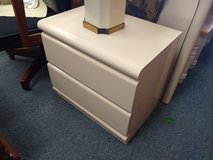 2 Laminate Ivory Night Stands in Aurora, Illinois
