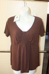 New with Tags Brown Small Womans Slinky Top in Spring, Texas