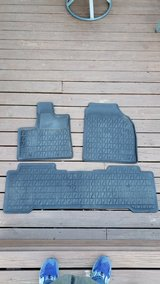 REDUCED  ACURA MDX  Back All Weather Floor Mats in Oswego, Illinois