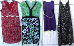 (4) Sz Small Sleeveless Maternity Dresses 1 Long Dress /3 Short in Orland Park, Illinois