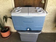 Rubbermaid cooler in 29 Palms, California