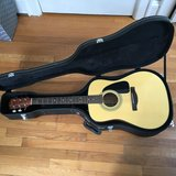 Fender acoustic guitar and accessories in Norfolk, Virginia