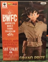 Banpresto Dragon Ball Z BWFC - Son Gokou Grand Prize in Okinawa, Japan