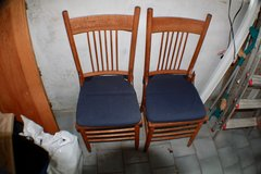 Wood Chairs in Spangdahlem, Germany