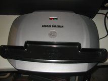 "Large George Foreman grill w/drip tray.  18"" wide in Plainfield, Illinois"
