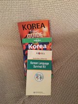 Lonely Planet Travel book -Korea with survival guides in Okinawa, Japan