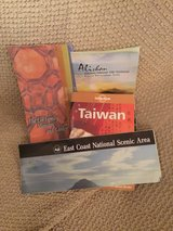Lonely Planet Travel book -Taiwan with some maps in Okinawa, Japan
