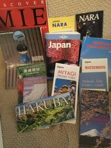 Lonely Planet Travel book -Japan with some maps in Okinawa, Japan
