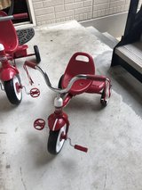 Radio flyer bike in Okinawa, Japan