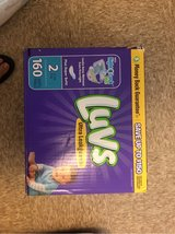 Luvs  diapers size 2 in Fort Hood, Texas