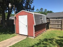 Little Red Tool Shed in Moody AFB, Georgia