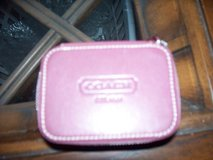 Coach leather coin ect zipppered in Travis AFB, California