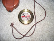 LEATHER COVER COMPASS in Fairfield, California