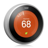Nest 3rd Generation Learning Thermostat -Stainless Steel NEW! (Unopened Box) in Byron, Georgia