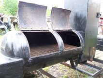 BBQ Pit Smoker Trailer in Spring, Texas