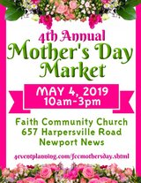 Mother's Day Market in Norfolk, Virginia